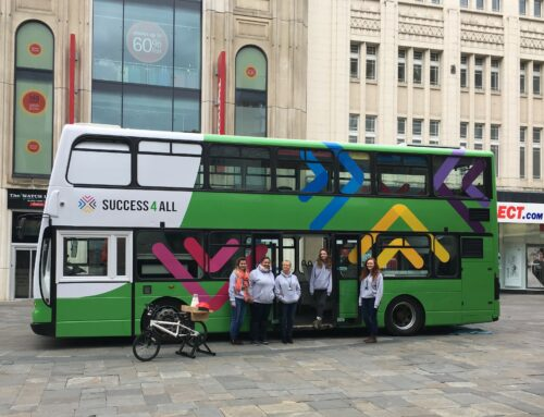 The Learning Bus visits Northumberland Street