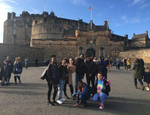 WEYDA's trip to Edinburgh