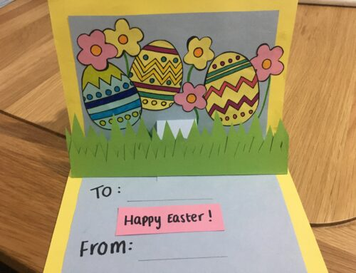 Let's Create! – Easter pop up cards