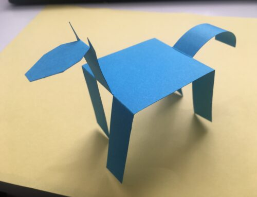 Let's Create Tuesdays – Walking paper horse!