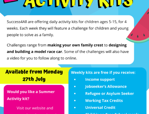 Apply for a Summer Activity Kit!