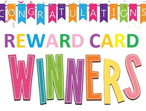Reward Card Winners