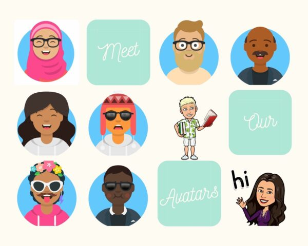 Animated emoji versions of our tutees and tutors