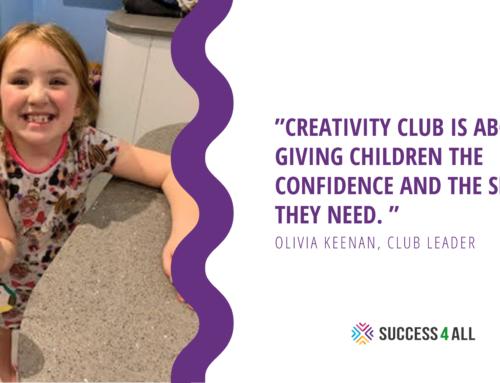 Success4All Sparks Curiosity in Creativity Club