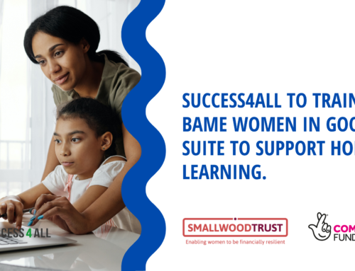 Success4All To Train 30 BAME Women In Google Suite To Support Home Learning