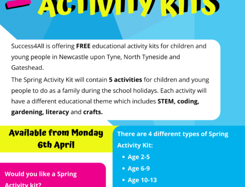 Apply For A FREE Spring Activity Kit